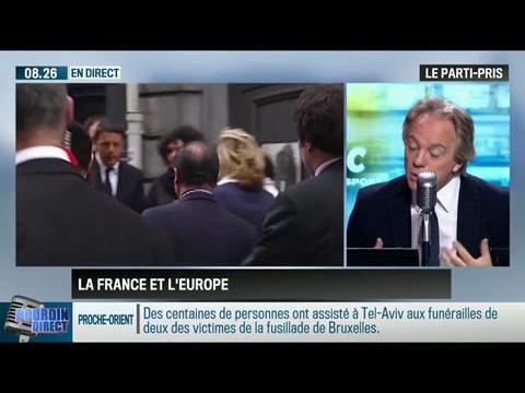 """Le parti pris d'Hervé Gattegno : """"François Hollande est politiquement affaibli en France et en Europe """" - 28/05"""