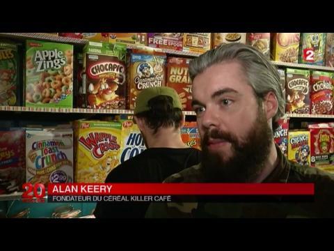 A Londres, il invente le bar à céréales !