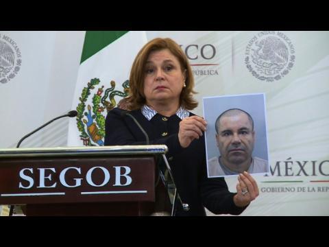 Mexique: 3,8 millions de dollars pour la capture d'El Chapo