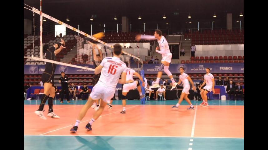 Le volley français brille à Rouen
