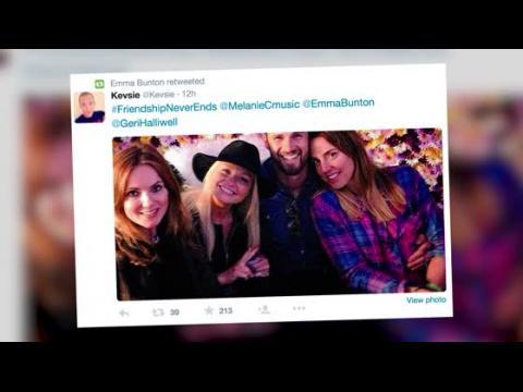 Geri Halliwell retrouve les autres Spice Girls au festival de l'Île de Wight