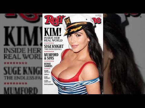 Kim Kardashian fait la couverture de Rolling Stone