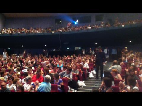 Najat Vallaud-Belkacem au congrès des enseignants de maternelle