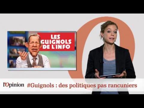 tweetclash : #Guignols : des politiques pas rancuniers