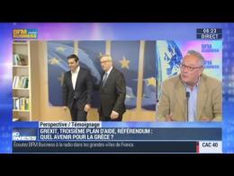Syriza et son Premier ministre ont conduit la Grèce à une situation désastreuse: Jacques Mistral - 01/07