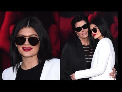 Kylie et Kris Jenner à la première de Gallows