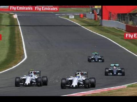 F1 - Williams rate le coche - F1i TV