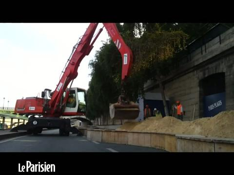 Paris Plages 2013 : le sable arrive