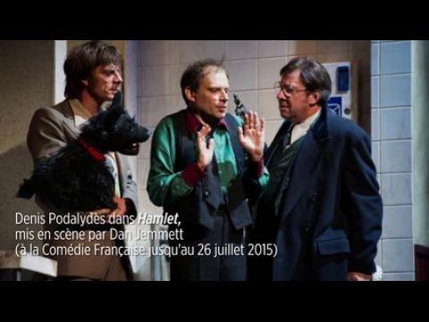 Denis Podalydès joue Hamlet