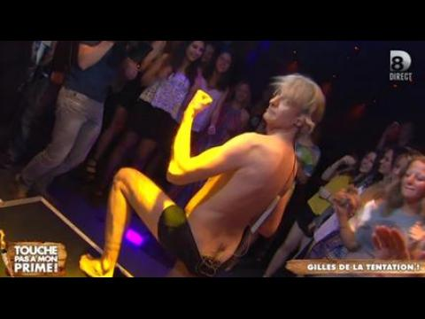 Le strip-tease de Gilles Verdez - ZAPPING PEOPLE DU 05/06/2015