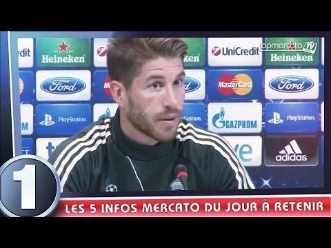 Ramos vers Man Utd, Monaco prévoit un coup à 40 M€... Le journal du mercato !