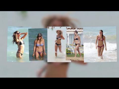Cinq filles sublimes en bikini pour nous motiver à aller à la gym