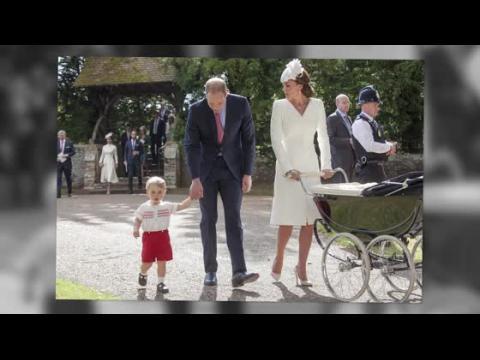 La famille royale est de sortie pour le baptême de la Princesse Charlotte