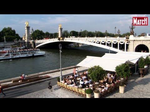 Paris : Terrasses au bord de l'eau