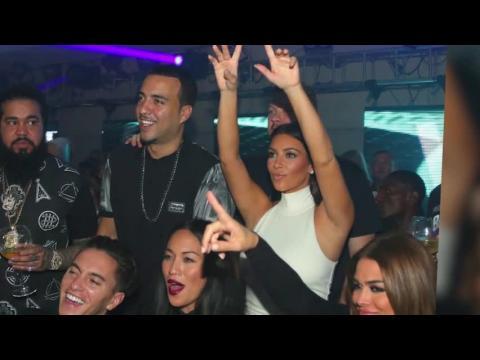Kim Kardashian fait la fête comme une star du rock à Abu Dhabi alors que Kanye a l'air déprimé à la maison