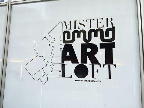 Mister EmmaArt Loft : Urinez vous êtes filmé !