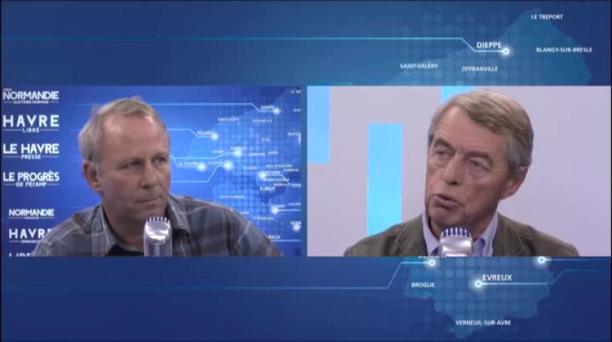 Invité de la rédaction - Vincent Lemarchand, président du Comité Rouen Ningbo