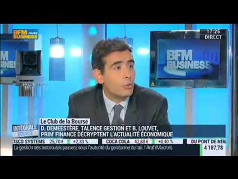 Le Club de la Bourse: Benjamin Louvet, Didier Demeestère et Xavier Robert – 13/11