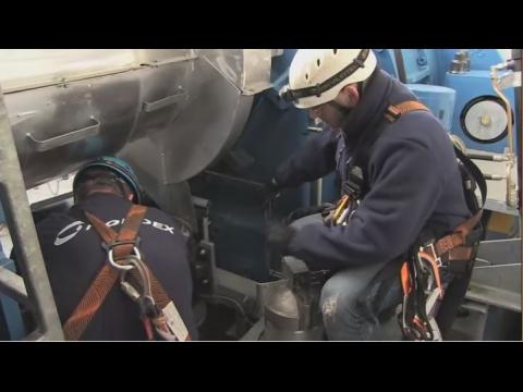 Les métiers de la maintenance : l'éolien