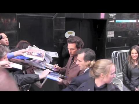 Matthew McConaughey gâte ses fans après Good Morning America