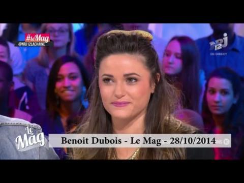 Benoit Dubois s'excuse auprès de Capucine Anav sur le plateau du Mag (NRJ12) !