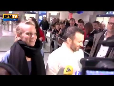 Les journalistes Valentine Bourrat et Thomas Dandois sont rentrés en France