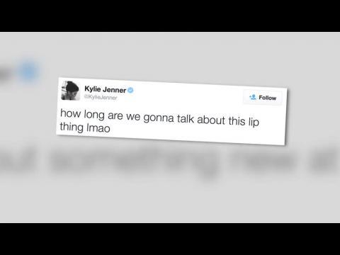 Kylie Jenner fatiguée des critiques sur ses lèvres dans les réseaux sociaux