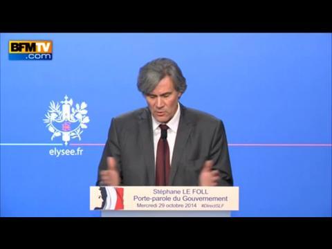 """Sivens: Le Foll répond aux critiques de Sarkozy en rappelant """"l'affaire de Clichy"""""""