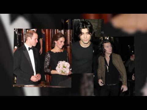 La Duchesse Kate est radieuse et rencontre One Direction