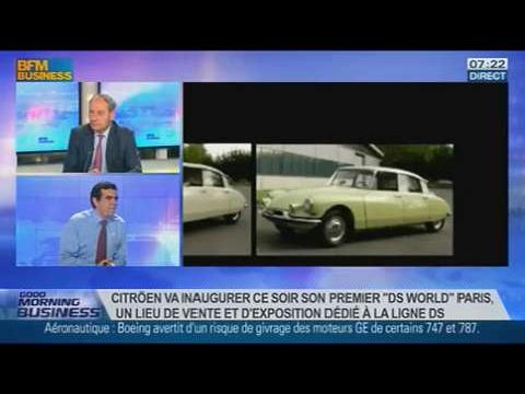 Citroën DS ou le luxe à la française, Frédéric Banzet, dans GMB – 25/11