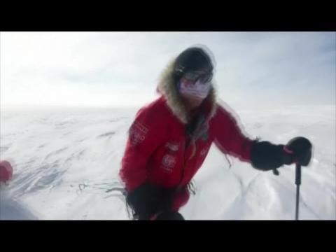Le prince Harry est arrivé au pôle Sud un vendredi 13