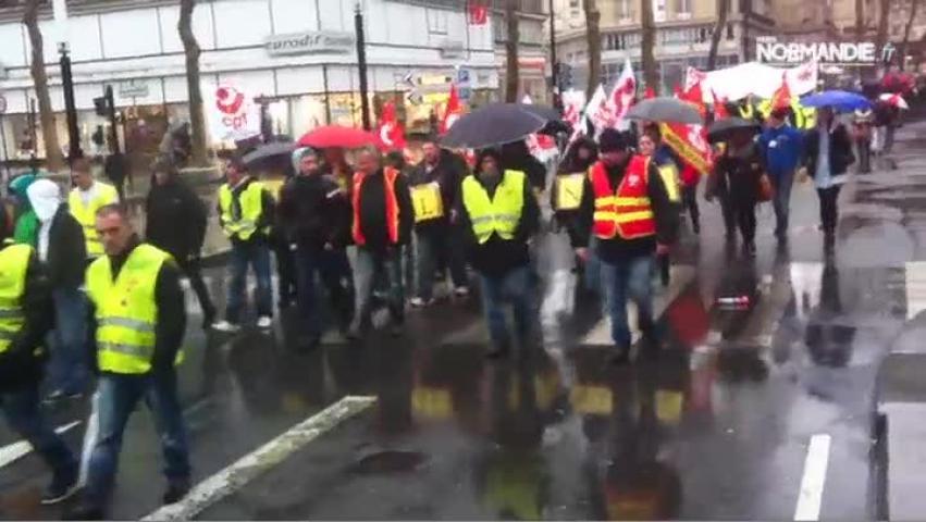 La manifestation de la CGT au Havre dérape
