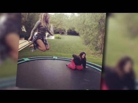 Kylie Jenner emmenée à l'hôpital après un accident de trampoline