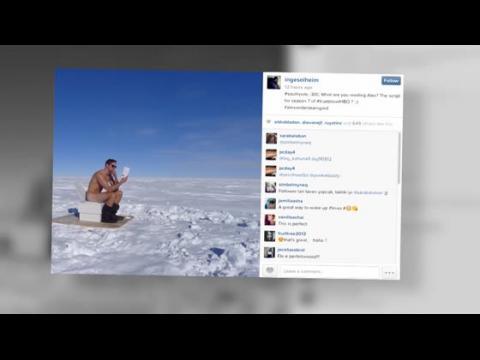 Alexander Skarsgård se retrouve nu au Pôle Sud