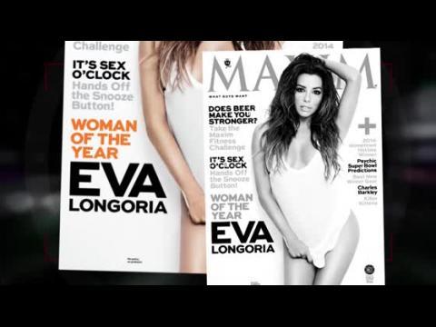 Eva Longoria nommée femme de l'année par Maxim