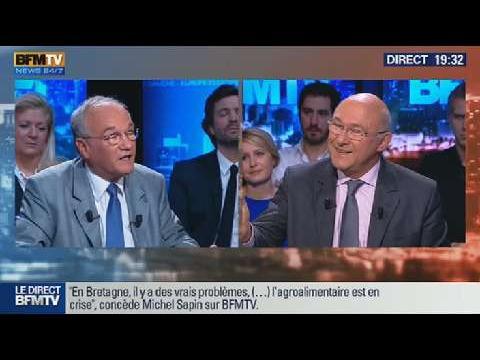 BFM Politique: Michel Sapin face à Gilles Carrez - 01/12 5/6