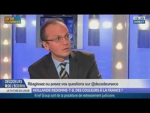 Hollande redonne-t-il des couleurs à la France? dans Les décodeurs de l'éco - 15/01 2/5