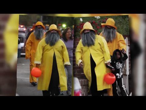 Sandra Bullock et Melissa McCarthy avec leurs enfants à Halloween