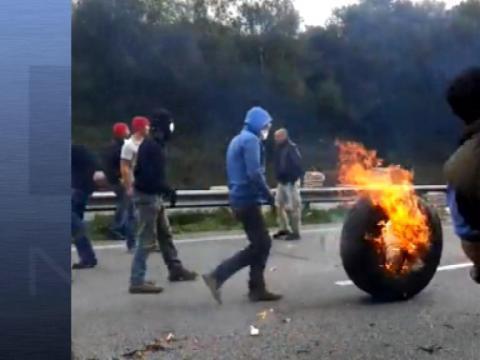Bretagne contre l'écotaxe: le manifestant blessé appelle au calme - 01/11