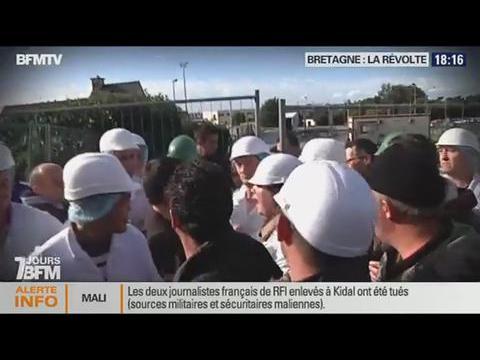 7 jours BFM: Bretagne, La révolte  - 02/11