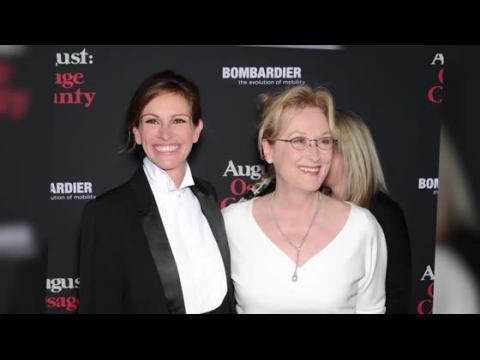 Julia Roberts et Meryl Streep sont sublimes à la première de Un été à Osage County