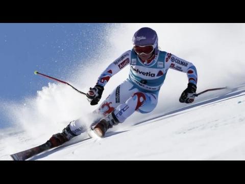 Tessa Worley se blesse lors du slalom de Courchevel