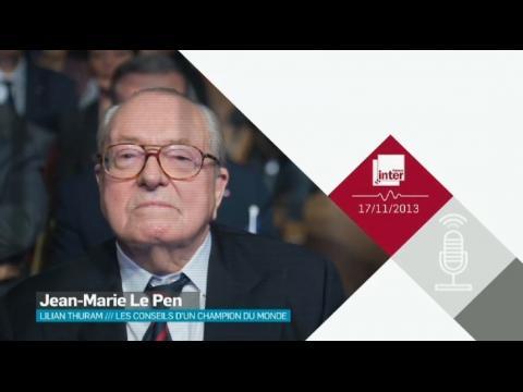 Pour Jean-Marie Le Pen , Christiane Taubira doit sa nomination à sa couleur de peau