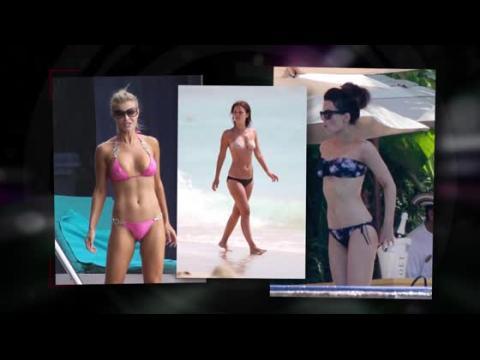 Les plus belles stars en bikini en 2013
