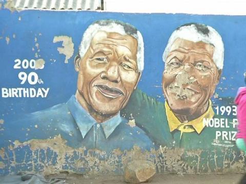 A Soweto, Nelson Mandela est dans toutes les têtes - 06/12