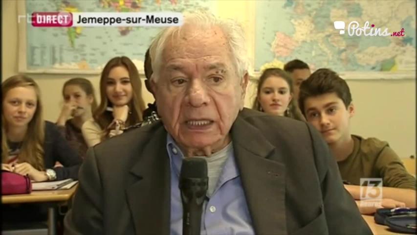 Michel Galabru déraille complètement dans le JT belge !