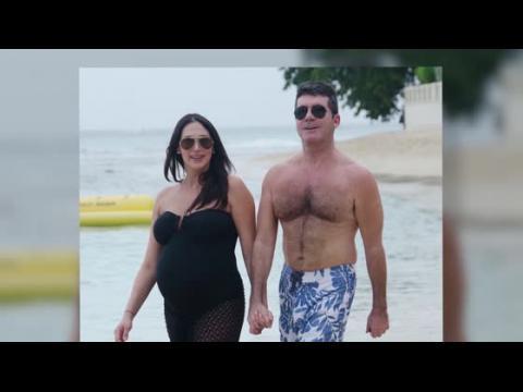 Simon Cowell et Lauren Silverman en vacances à la Barbade