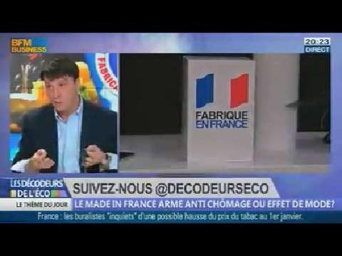 Le made in France arme anti chômage ou effet de mode ? dans Les décodeurs de l'éco - 11/11 5/5