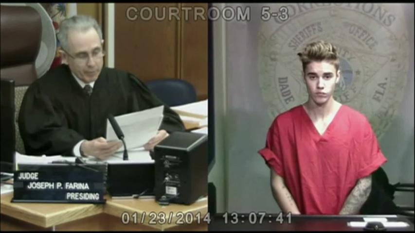 Justin Bieber devant le juge pour conduite en état d'ivresse