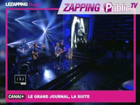 """Zapping Public TV n°833 : Ed Sheeran : sublime live de """"Thinking out loud"""" au Grand Journal !"""